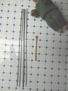 5er Aiguille Jeu 1 mm, Tracassin Tricot Aiguilles, idéal pour Poupées-Vêtements  </span>