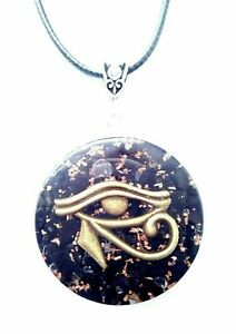 necklace-orgonite-pendant-Eye-of-Horus-made-by-hand-protection-emf-orgon