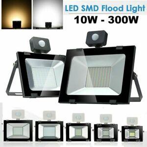LED Fluter Flutlicht Strahler Mit Bewegungsmelder Scheinwerfer Außen 10-100W