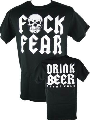 Stone Cold Steve Austin F Fear Drink Beer Mens T-shirt