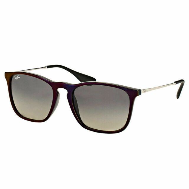 766a68e997 Ray ban chris red black plastic sunglasses grey gradient lens jpg 640x640 Ray  ban chris black