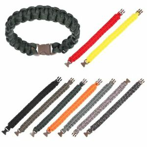 Emergency Bracelet Camping Hiking Tool Paracord Cord 550 Paracords Bracelets