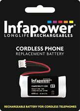 Infapower T008 2x AAA 89 Cordless Phone Rechargeable Battery