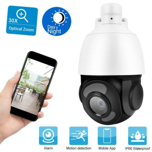 Telecamera PTZ 30X Zoom 5MP IP Camera Motorizzata IR LED Visione notturna ONVIF