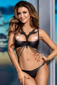 cheap for discount best cheap factory authentic Détails sur AXAMI Set V-8331 Redresse-seins + Tanga Sexy 80 85 90 95 100  ABCDE