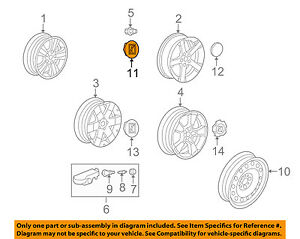 saturn gm oem 08 10 vue wheels center cap 96464480 ebay rh ebay com Saturn Rims and Tires 2003 Saturn Rims