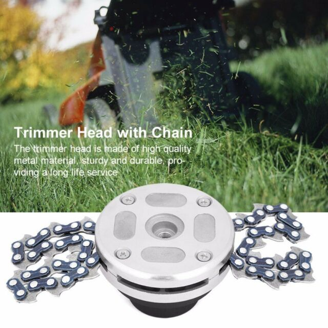 For Lawn Mower 65Mn Trimmer Head Coil Chain Brush Cutter-Garden-Grass-Trimmer.