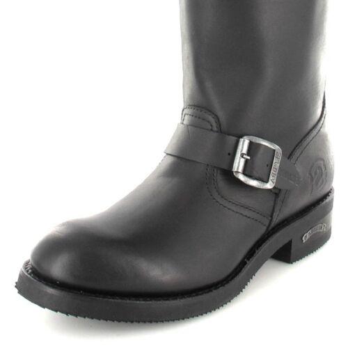 Boots Und Negro Sendra Engineerstiefel Für 2944 Schwarz Herren Damen bYf6g7Iyv
