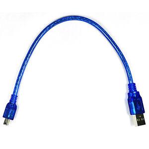 USB-2-0-A-Male-to-MINI-B-5pin-USB-Male-Converter-Data-Cable-High-Speed-30CM-KiYL