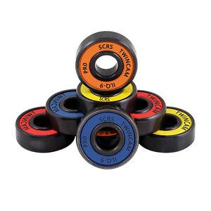 1//8 Pack Skateboard Bearings ABEC-7 608ZZ Speed Stainless SALE Random Color R9X4