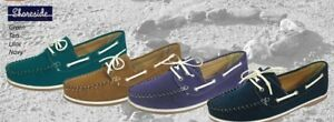 Ladies-Lace-Up-Deck-Shoes-Shoreside-FREE-POST-Brand-New