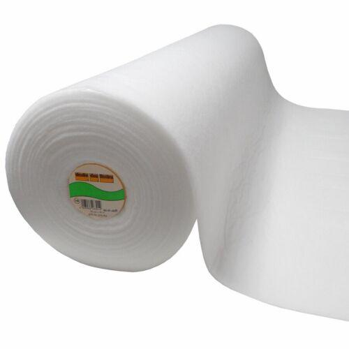 9.04 EUR//Mt. ROLLE Vlieseline 281 weiß 150cm x 25m Volumenvlies