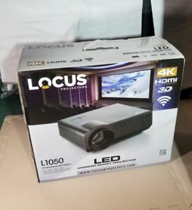 Locus-L1050-Android-Smart-Projector-with-72-034-Self-Lock-Screen-4k-3D-Wifi-NIB