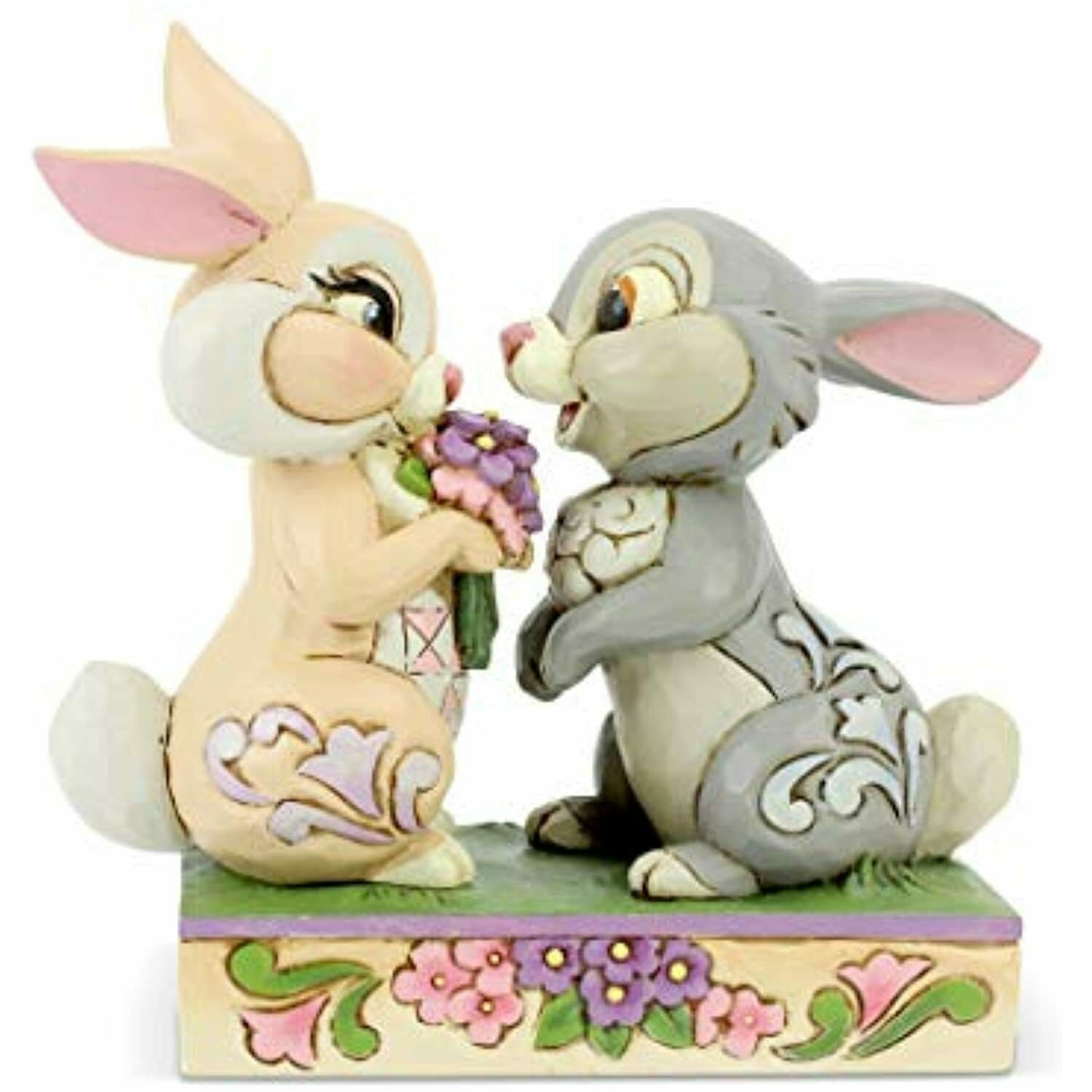 Jim Shore 6005963 Bunny Bouquet Thumper And Blossom 2020 Disney Bambi For Sale Online Ebay