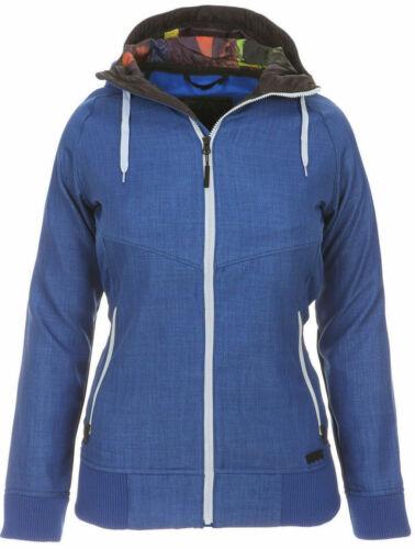 Nitro CHEALSEA Damen Softshelljacke Übergangsjacke Regen /& Schneejacke blau