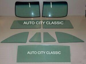 1949-1952 Chev Business Sport Coupe Glass Vent Door Quarter Set Clear