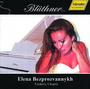 1 von 1 - CD Elena Bezprozvannykh Frédéric Chopin Blüthner (K132)