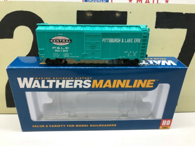 Walthers HO Scale NYC Pittsburgh & Lake Erie 40' AAR Boxcar RD #30190 RTR New