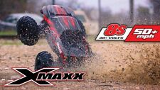 "Traxxas 1:6 X-Maxx 8S Brushless TSM 4WD Monster Truck RTR 29.8"" Red 77806-4"