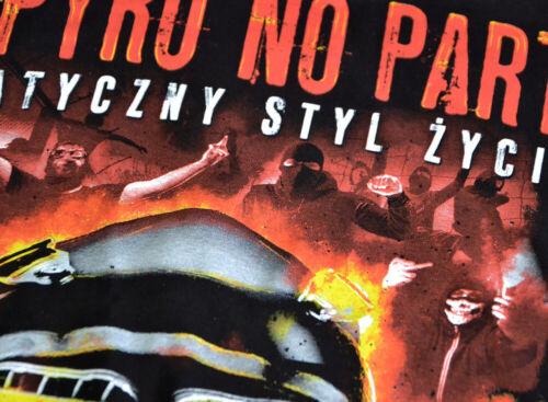 Sweatshirt Hoodie Hooded Men Bluza Black Hooligans EA Fans No Pyro No Party