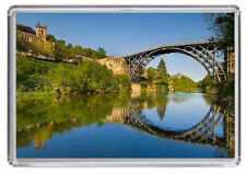 Iron Bridge Gorge Fridge Magnet 01
