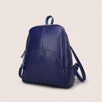 Fashion Women's Backpack Leather Travel Satchel Shoulder Bags School Rucksack
