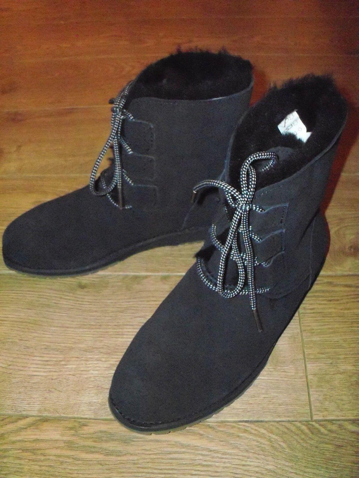 Nuevo Emu Illawong Oveja Australiana Australiana Australiana botas Números Gb 6 Negro - Ver Desc  forma única
