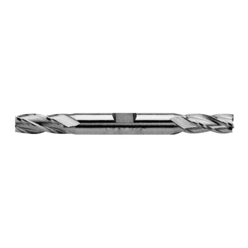 """7//16 X 1//2/"""" HIGH SPEED STEEL 4 FLUTE DOUBLE END END MILL 5804-0437"""