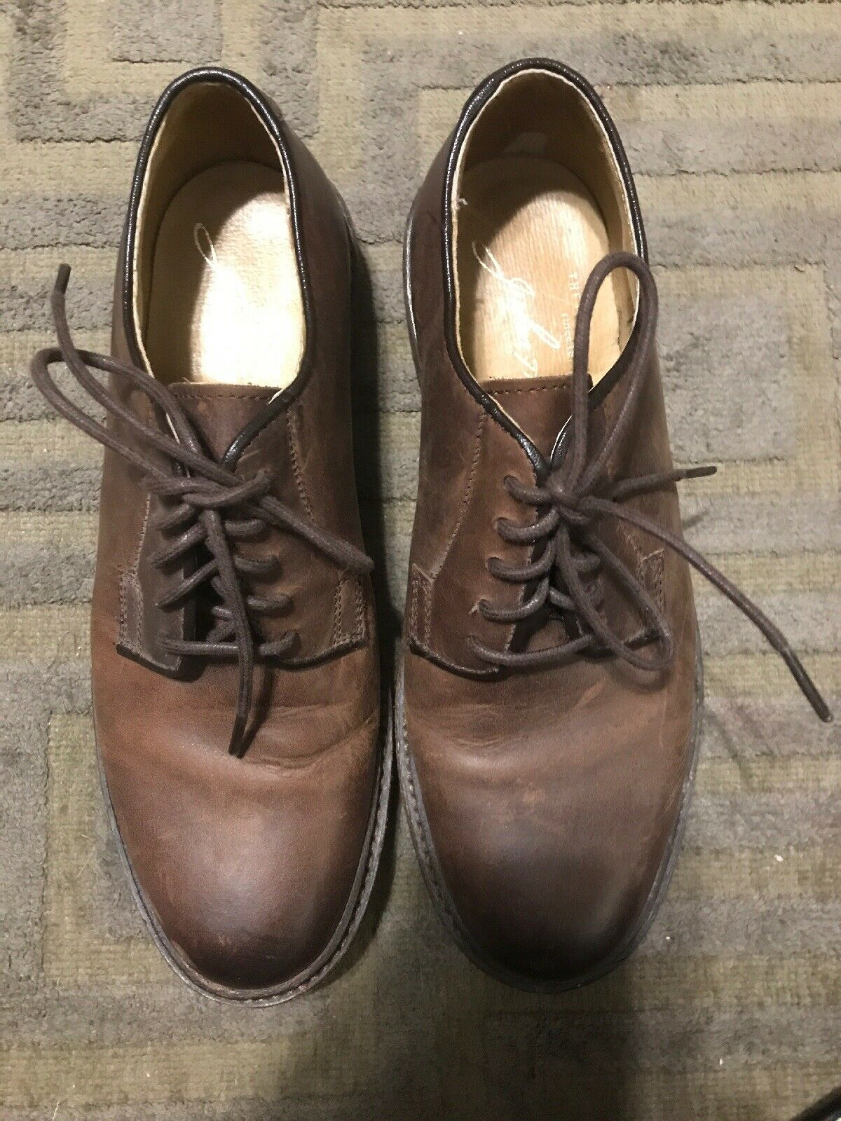 Frye Hommes Marron Chaussures US Taille 6.5 Femme 8.5