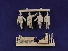 Milicast 1/76 Field Medics & Wounded (6 Figures) FIG010