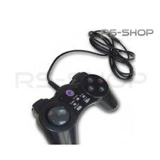 2 x USB cablato PC / MAC videogame JOYPAD CONTROLLER PS Style 8 VIE D Pad-nero