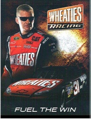 "2012 JEFF BURTON /""WHEATIES/"" #31 NASCAR SPRINT CUP SERIES POSTCARD"