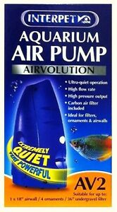 Interpet-Airvolution-AV2-Aquarium-Fish-Tank-Air-Pump-AV-2