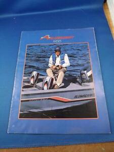 ALUMACRAFT-1988-BOAT-SALES-BROCHURE-FISHING-LUNKER-BASS-JON-BOAT-LUXURY