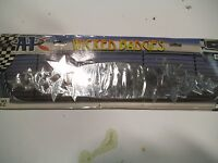 Hot Rat Rod Low Rider Wicked Stars Grill Badge Chrome