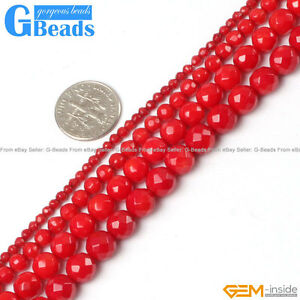 Red-Coral-Gemstone-Faceted-Round-Beads-For-Jewelry-Making-Free-Shipping-15-034