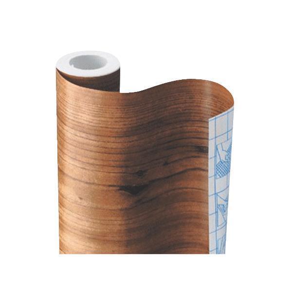 Lot de 12 détenu-Tact 18  X 9' KNOTTY Pine auto-adhésif Shelf Liner 09F-C9013-01