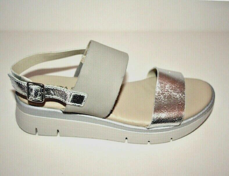 Cinzia Soft femmes IV10627-SO 001 Sandalo argent gris