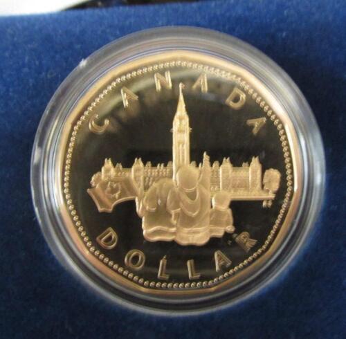 Parliament Dollar 1992 Commemorative Proof Loon