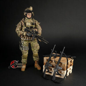 12-039-039-Action-Figure-Toys-M16-Black-US-Army-Rifle-Gun-Weapon-Model-F-1-6-Soldier
