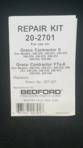 BEDFORD 20-2701 REPLACES GRACO 287031