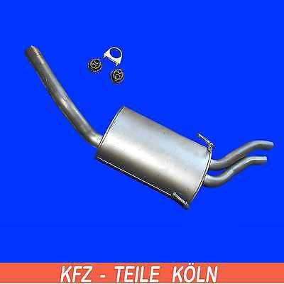 Auspuff für Evasion Jumpy Scudo Fiat Ulysse Zeta 806 Expert 2.0 *3049