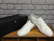 MENS SUPRA WRAP WHITE UK 8 LACE UP TRAINERS SKATE