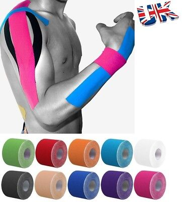 Sports Kinesiology Tape Elastic Physio Muscle Tape PRO Pain Relief SupportV