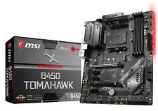 MSI Gaming B450 Tomahawk AMD Ryzen Am4 ATX Motherboard