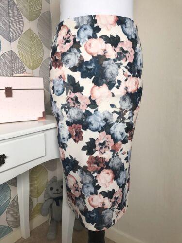 b10507a0f5 MATALAN FLORAL 'BELOW the knee' Skirt – Size 8 - £7.99   PicClick UK