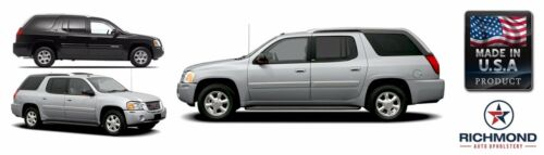 Driver Side Bottom Leather Seat Cover Gray 2005-2009 GMC Envoy Denali SLT SLE