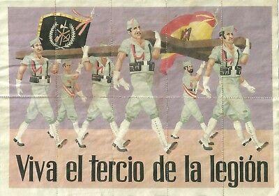 0938 Viva El Tercio De La Legion Montanchez-caceres Cupones Racionamiento úLtima TecnologíA