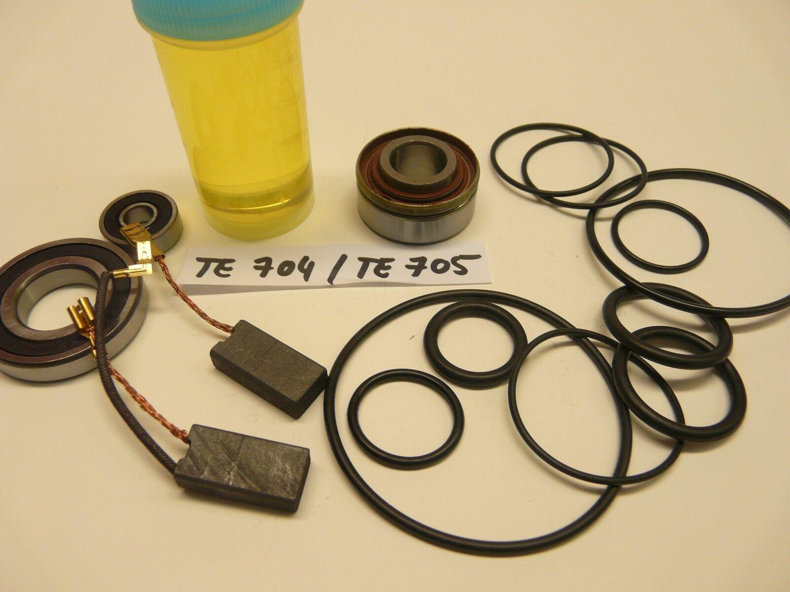 Hilti TE 704   TE 705,  Reparatursatz, Verschleissteilesatz + Spezial Lager