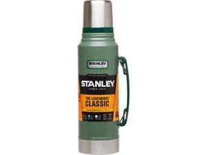 Stanley-Vakuum-Flasche-1-Liter-Edelstahl-Isolierflasche-Trinkflasche-Feldflasche